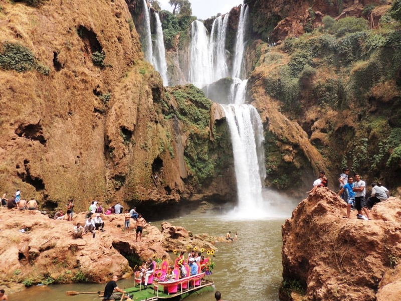 day trips from Marrakech, ouzoud